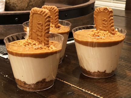 Biscoff Lotus Mousse